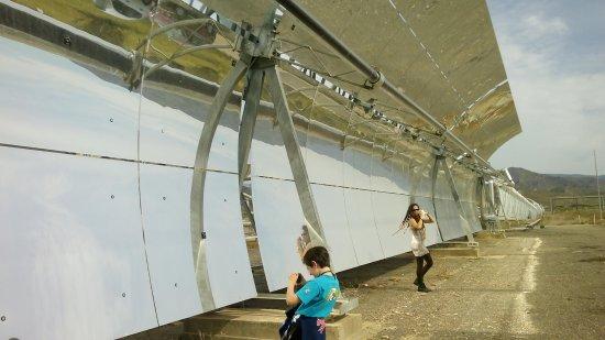Plataforma Solar de Almeria: Colectores cilindro parabólicos