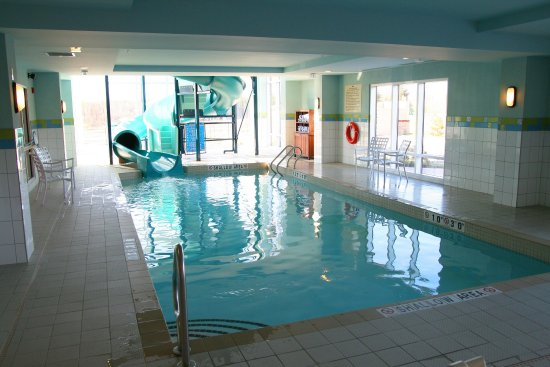 Hampton Inn Suites By Hilton Moncton Pool Waterslide