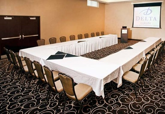 Guelph, Kanada: Meeting Room – U-Shape Setup
