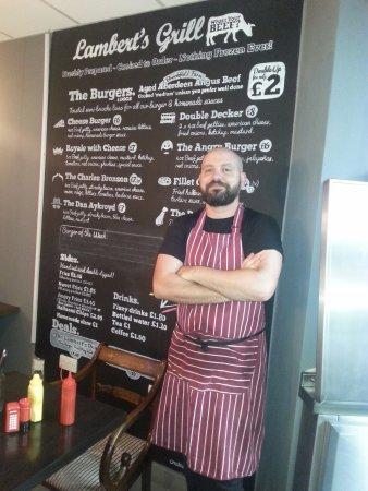 Stevenage, UK: Jeff - the owner