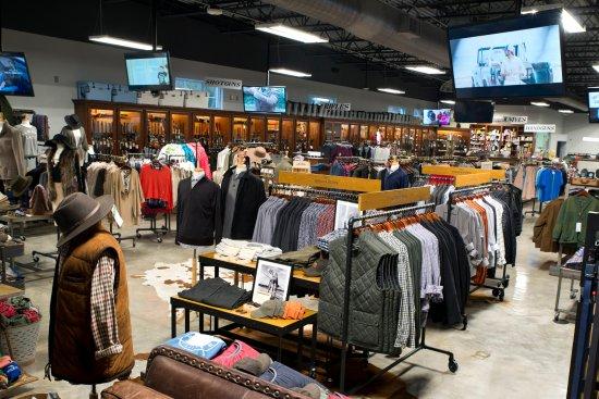 Carrollton, GA: View of Men's and Womens clothing at Shot Spot