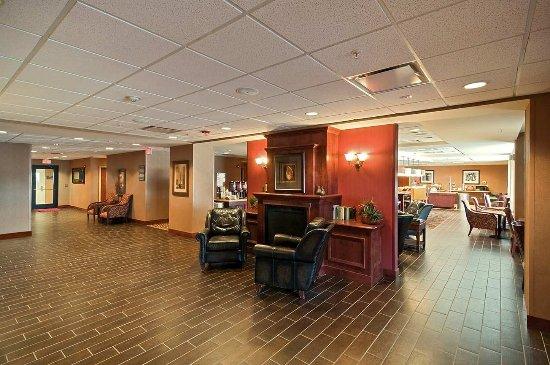Rawlins, WY: Fireplace in Lobby
