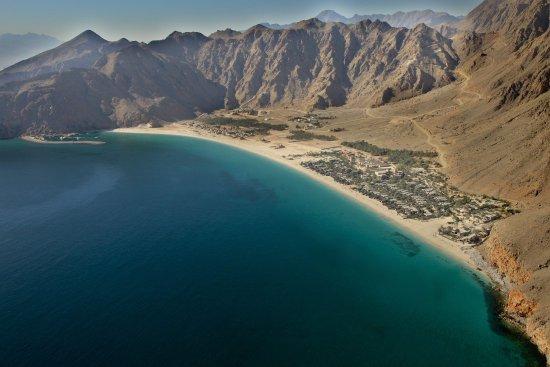 Six Senses Zighy Bay: Aerial View