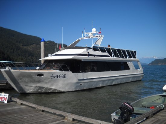 Harrison Hot Springs, Kanada: Our tour boat