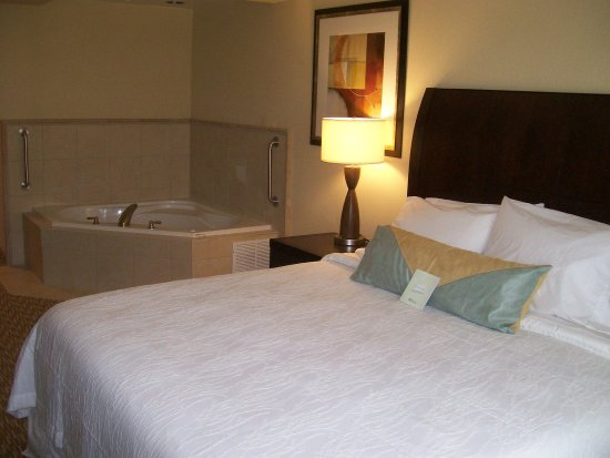 Hilton Garden Inn Huntsville South : King Whirlpool Room