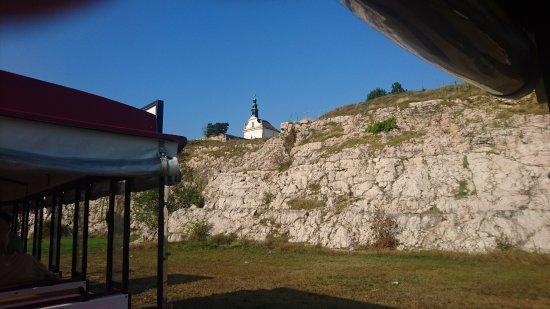 """Тата, Венгрия: Tata - """"Happy train"""" - The Calvary Hill"""