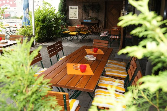 Bielefeld, Germania: Beer Garden
