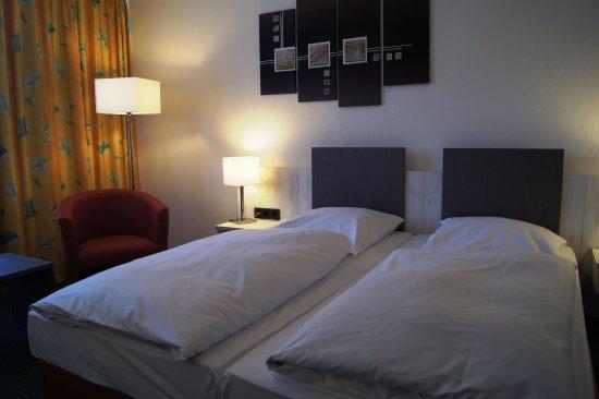 Bielefeld, Duitsland: Comfort Double Room
