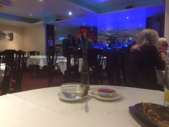 Bexhill-on-Sea, UK: A calm atmosphere for a relaxing meal