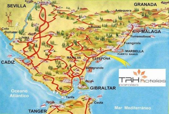 Hotel TRH Paraiso Costa del Sol: LOCATION