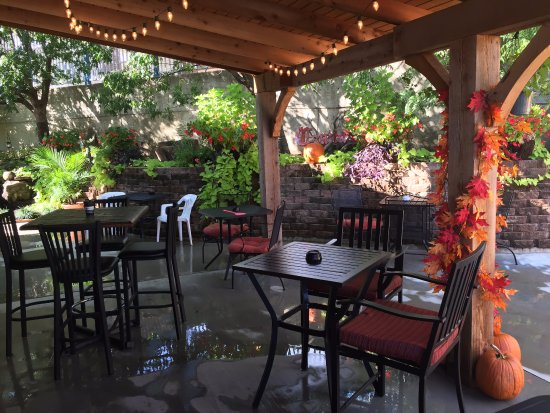 fall on patio picture of el adobe mexican restaurant atoka