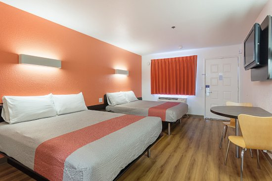 Motel 6 Fresno: Guest Room