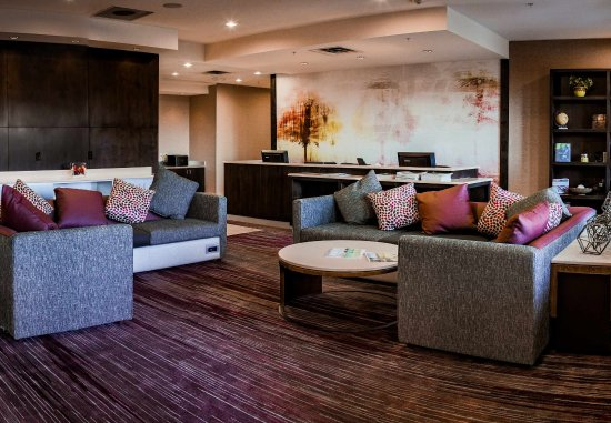 Norman, OK: Business Center and Lobby Seating