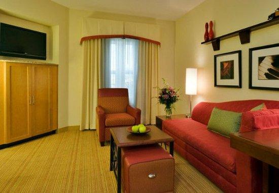 Port Saint Lucie, ฟลอริด้า: One-Bedroom Suite Living Area
