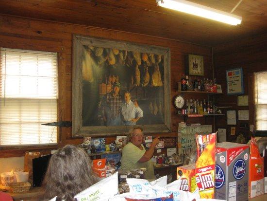 Smithfield, VA: DeeDee Darden tells about their ham curing.