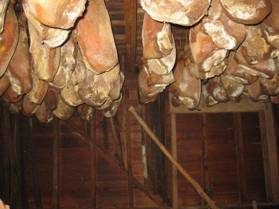 Smithfield, VA: Hams in the smoke house