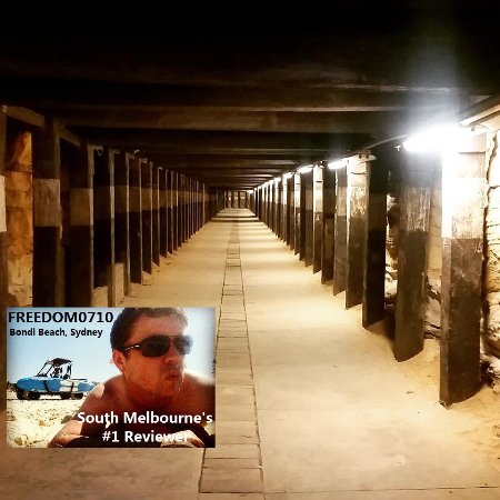 Cockatoo Island - The tunnel