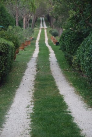 Loriol-du-Comtat, France: Driveway