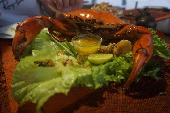 Katunayake, Sri Lanka: Delicious king crab