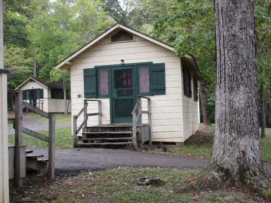 Picture of mammoth cave woodland cottages for Mammoth mountain cabins pet friendly
