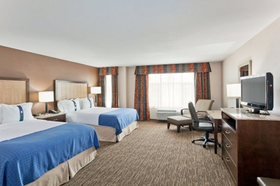 Surrey, Canadá: Double Bed Guest Room