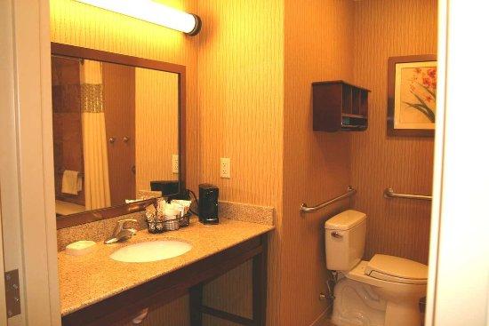 Matamoras, PA: Accessible Bathroom