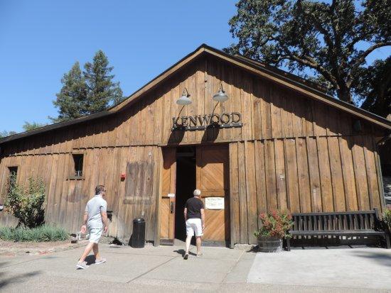 Kenwood, Καλιφόρνια: The barn