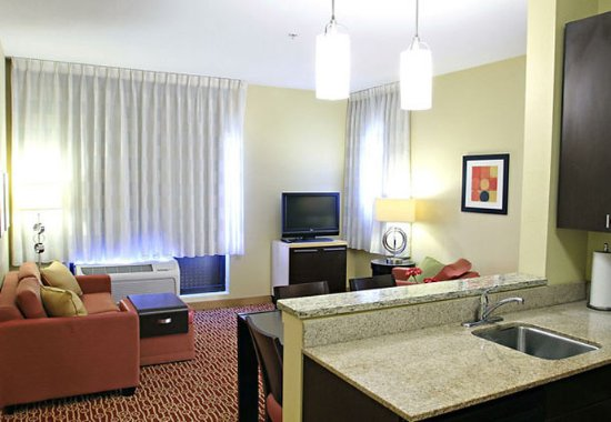 Huntington, WV: One-Bedroom Suite Living Area