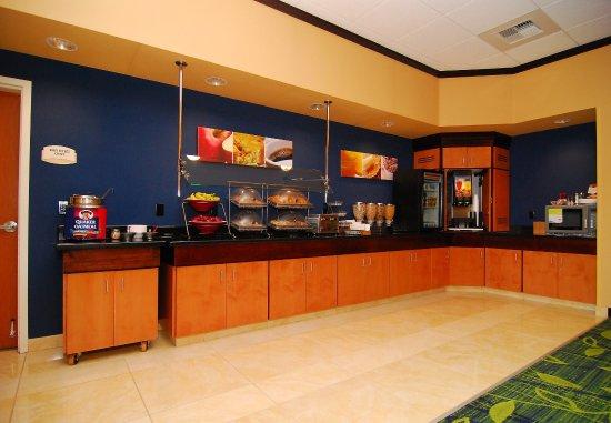 Tehachapi, Kalifornia: Breakfast Bar