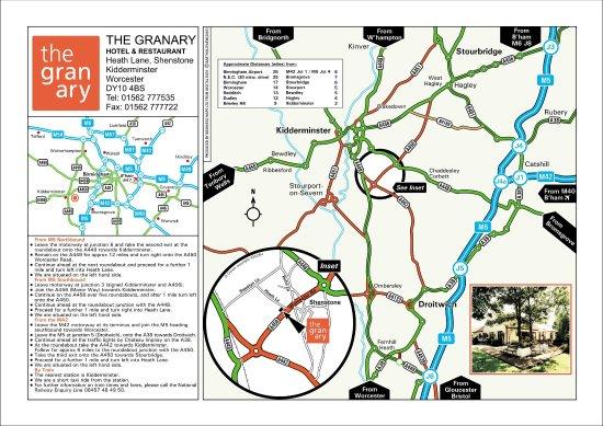 Kidderminster, UK: Map