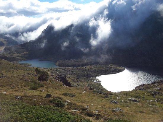 El Serrat, Andorra: Asalto de nubes