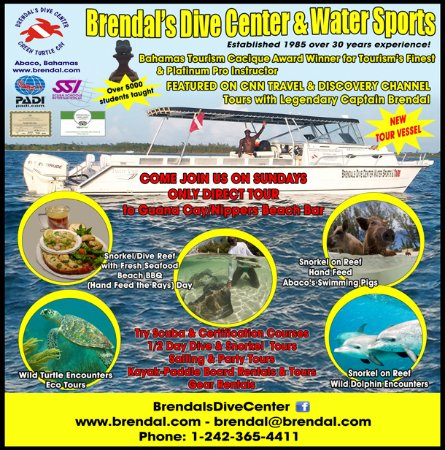 Brendal's Dive Center & Water Sports offers a variety of Adventure Tours!