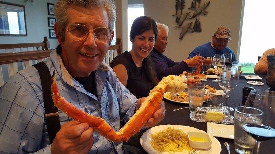 Kenai, AK: Alaska King Crab Dinner