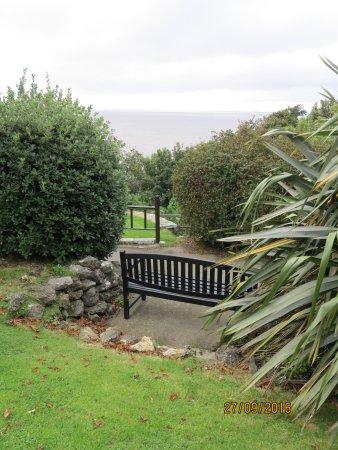 Clevedon, UK: Views across the Bristol Channel
