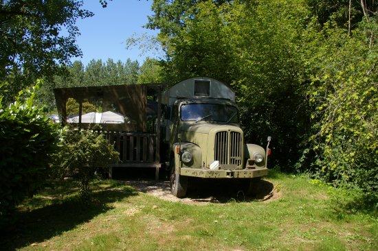 Rauzan, França: Votre location insolite au camping