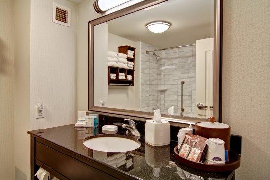 Hampton Inn by Hilton Toronto Airport Corporate Centre: Guest Bath