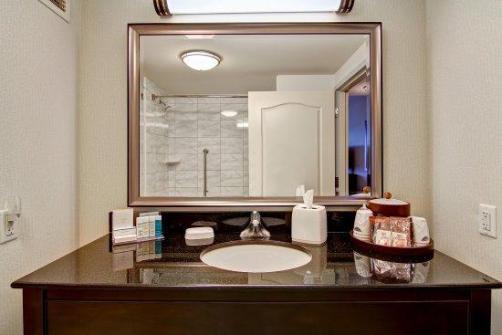 Hampton Inn by Hilton Toronto Airport Corporate Centre: Guest Bath Counter