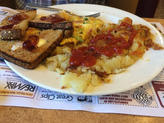 Whippany, Nueva Jersey: Western Omelet & Home Fries