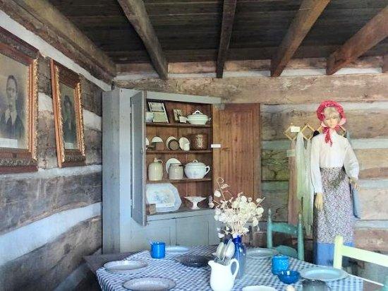 Washington's Western Lands Museum: sayre cabin