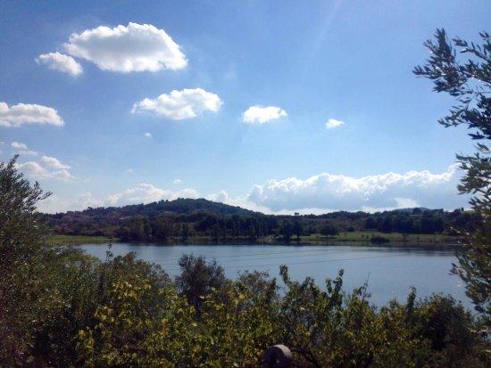 Monterosi, Itália: Lago piccolo ma grazioso