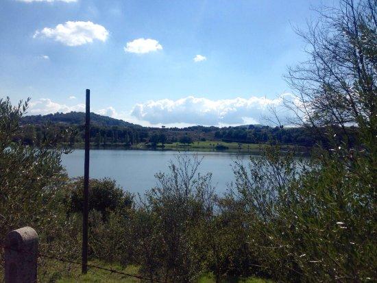 Monterosi, Italia: Lago piccolo ma grazioso
