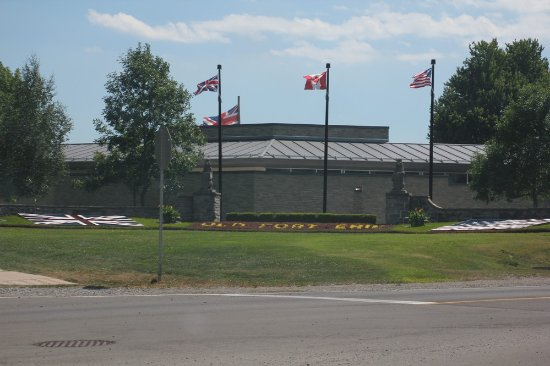 Old Fort Erie: Our first view of the fort