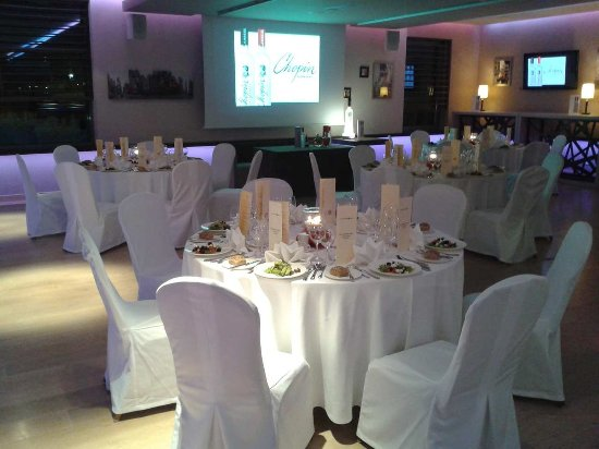 Hilton Garden Inn Hotel Krakow: Gala Dinner