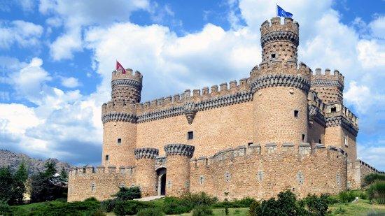 Tres Cantos, Espagne : Castillo de Manzanares El Real