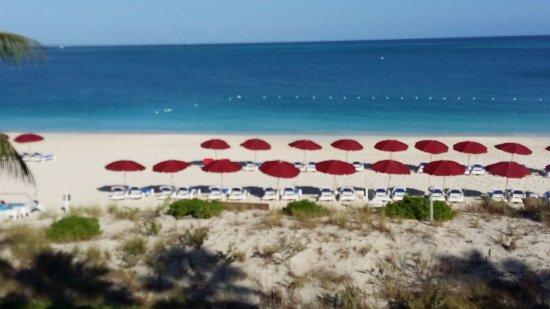 Royal West Indies Resort: Vista da sacada do quarto