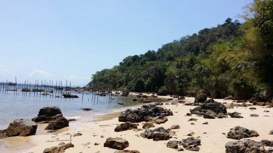 Gamboa Beach: Caminata hacia Gamboa
