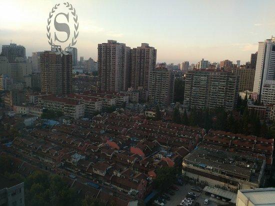 Sheraton Shanghai Hongkou Hotel: View from 18th floor