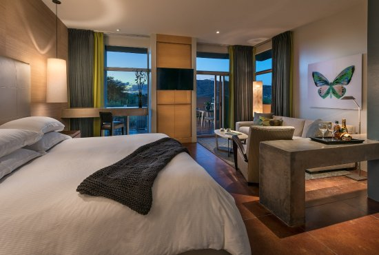 Sanctuary Camelback Mountain: Spa Casita Bedroom