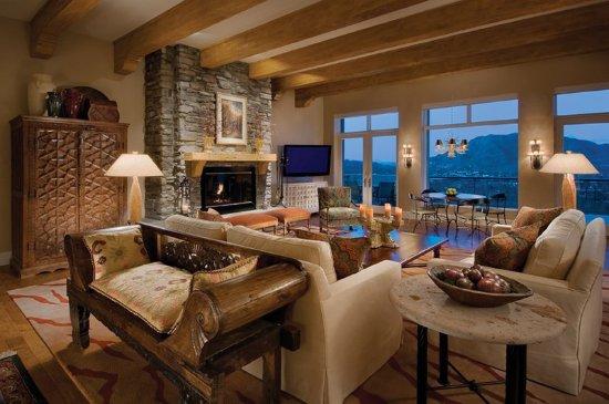 Sanctuary Camelback Mountain: Casa Nine Living Room