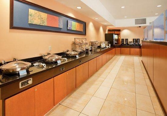 Grand Island, Nebraska: Breakfast Area